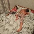 Просто огромная одна кровать с отличными матрасами!