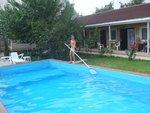 Добровольная уборка бассейна